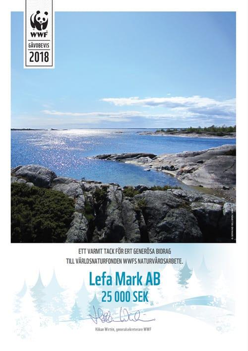 WWF Lefa Mark